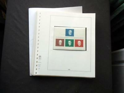 14124aj EUROPE MINT STAMP & M/S COLLECTION ON LOOSE LINDNER PAGES = EUROPE THEME