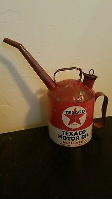TEXACO Motor Oil Can With Spout ~ Open Road Brands