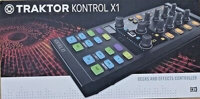 Native Instruments Traktor Kontrol X1 MK2 Decks and Effects DJ Controller - NEW