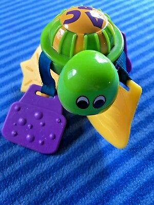 Evenflo Smart Steps ABC/123 Exersaucer Turtle Teether Toy Replacement Part