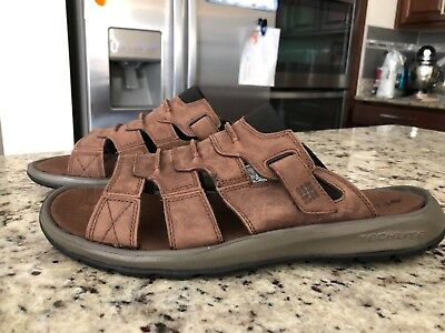 Columbia Men/'s CORNIGLIA™ II Omni-Grip Leather Sandal BM4454-010