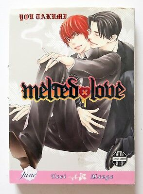 Melted Love You Takumi June Yaoi Manga Novel Anime Comic Book