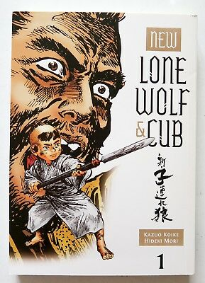 New Lone Wolf & Cub Vol. 1 Dark Horse Manga Novel Anime Comic Book