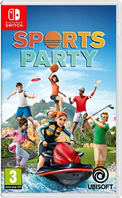 Sports Party Nintendo Switch Game GAME NEUF