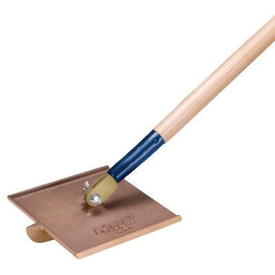 "KRAFT TOOL CC277 8"" x 8"" 1/8""R, 3/4""D LARGE & HEAVY Bronze Walking Groover  $86"