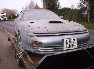 toyota celica gt4 barn find project good solid unwelded car 101k miles manual