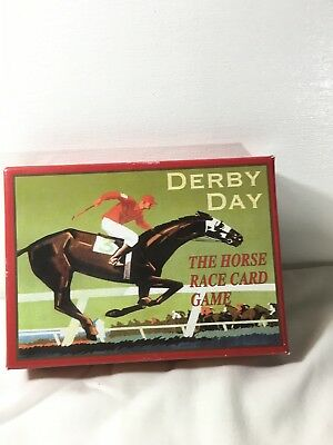 Derby Day The Horse Race Card Game.