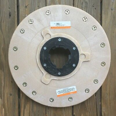 "Diamabrush Concrete Polishing + Prep Tool. 18"" 200 Grit 911801230-5. Used"
