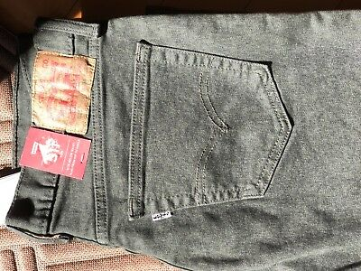 0088129177d NWT LEVIS 511 SLIM FIT STRETCH JEANS MOSS GREEN DENIM SKINNY MENS SZ 34x34