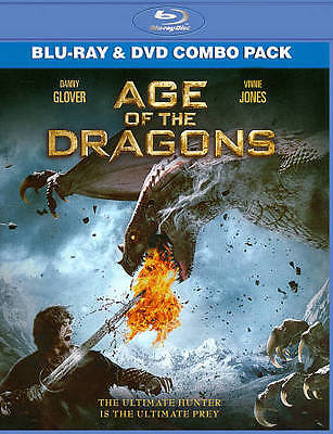Age of the Dragons (Blu-ray/DVD, 2012, 2-Disc Set), NEW and Factory Sealed