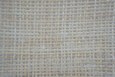 """Chair Caning Supplies 18"""" W  Cane Webbing Mesh, 7'10"""" L Open Modern Weave"""