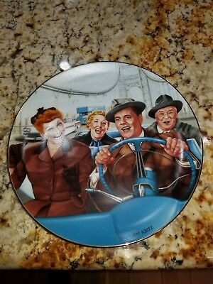 "I Love Lucy ""California Here We Come"" Plate"