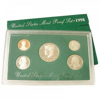 1998 United States Coin Proof Set. US MINT. Free Shipping