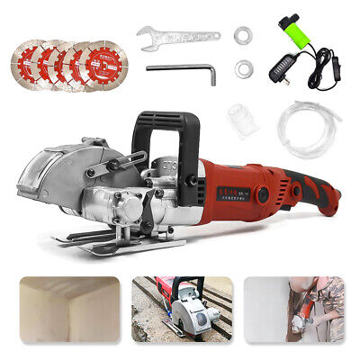 220V 42mm Wall Groove Cutting Machine Electric Wall Chaser Slotting Machine Tool