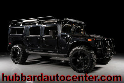 2006 HUMMER H1 Fully custom inside and out, BMW seats, amazing cu 2006 Hummer H1 Alpha Fully Custom, BMW Seats, New Roofrack & Light Bar with LEDs