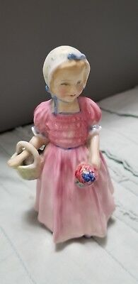 Royal Douton Figurine Tinkle Bell Bone China Made In England Vintage