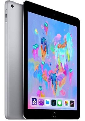 Apple - iPad 9.7 6th generation (Latest Model) with Wi-Fi - 32GB