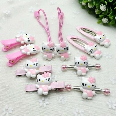 Hello Kitty hair accessories for girls kids clips Hair Band