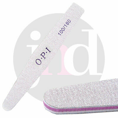 Nail File OPI 2 Sided 100/180 Grit Sanding Edge Buffering Manicure Flex Tool