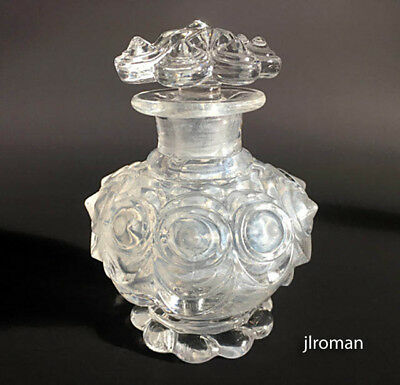 ANTIQUE BACCARAT c1830 GEORGIAN CHARLES X PERFUME BOTTLE * NO RESERVE