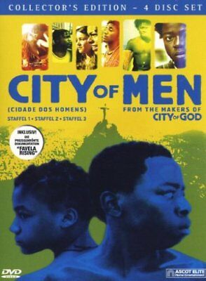 City of Men – Die komplette Serie / 4 DVD-Box NEU & OVP / Staffel 1, 2, 3 + Doku