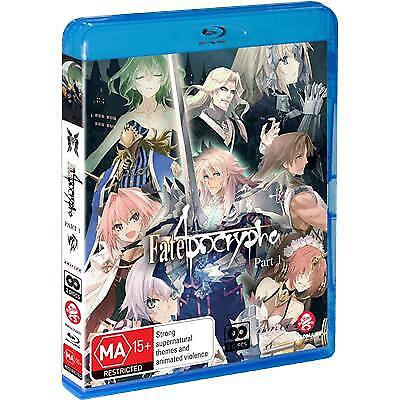 Fate/Apocrypha : Part 1 : Eps 1-12 (Blu-ray, 2019) (Region B) New Release