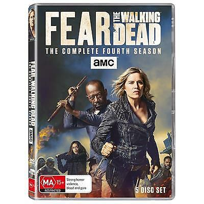 Fear The Walking Dead : Season 4 (DVD, 2019) (Region 4) New Release