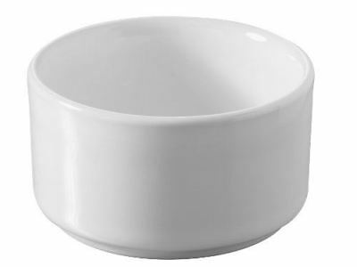Pack of 6 Revol Cook and Play Smooth Ramekins 65mm White Porcelain
