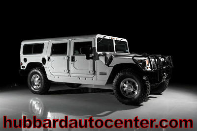 2001 AM General Hummer 4-Passenger Wagon Enclosed 2001 Hummer H1, Super Low Miles, Leather Seats, Custom Touches Throughout, WOW