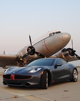 2012 Fisker Karma  erial Hybrid with 403 horsepower and 959 lb-ft torque