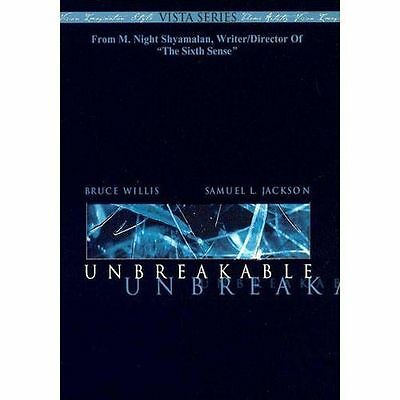 Unbreakable (DVD, 2001, 2-Disc Set, Vista Series)