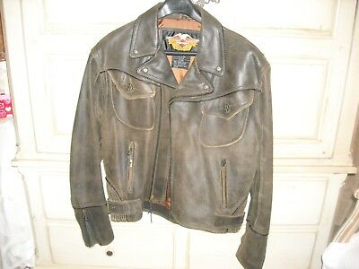 Harley Davidson Leather Jacket Billings Collection XL