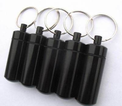 Black Bison Tube Geocache (5 pack) with Free Waterproof Logs
