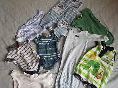 Newborn Baby Boy Clothes Bulk Pack 0000