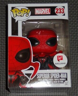Funko Pop! SUPERIOR SPIDER-MAN Marvel #233 Walgreens Exclusive Vinyl - HTF
