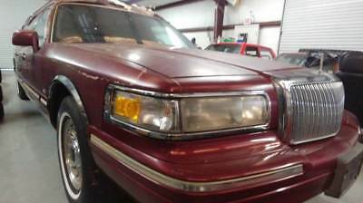 1996 Lincoln Town Car Executive 4dr Sedan FUNERAL CAR Lincoln Town Car BURGUNDY with 39,111 Miles, for sale!
