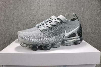 ON SALE! NIKE AIR VaporMax Air Max 2018 Men's Running Trainers Shoes Grey