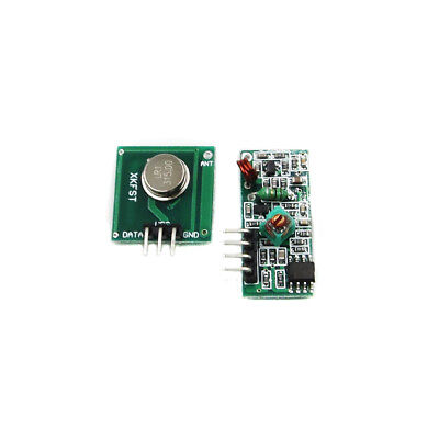 2PCS 315Mhz RF transmitter and receiver link kit for Arduino/ARM/MCU remote