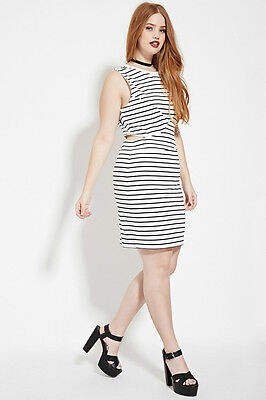 abacc8915ad FOREVER 21 PLUS Size White Yellow Gingham Cami Dress 2X -  17.99 ...