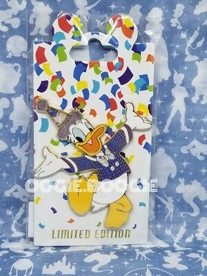 Disney Pin WDI MOG Destination D D23 LE 400 Donald Duck Mickey 90th Birthday