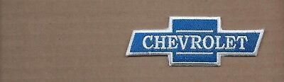 New 2 1/2 X 4 1/4 Inch Chevrolet Bow Tie Iron On Patch Free Shipping