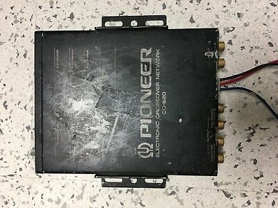 Pioneer Cd-620 Electronic Crossover Network, Preowned