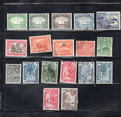 Aden  Stamps  Canceled Used  & Mint Hinged    Lot 36893