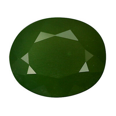 2.99Ct BEAUTIFUL ULTRA RARE NATURAL GREEN EMERALD CHALCEDONY