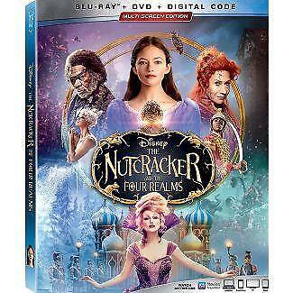 The Nutcracker and the Four Realms Blu-ray / DVD Free Ship  Pre Order 1/29/19 t