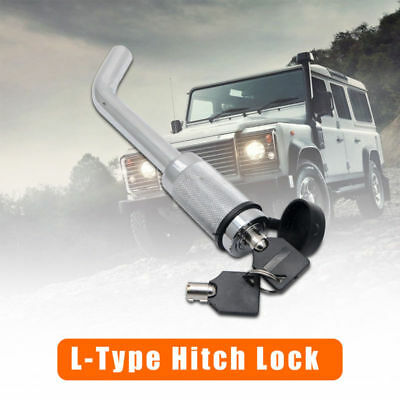 Hitch Pin Lock Security Tow Ball Bar L type Caravan Trailer Parts Anti Theft New