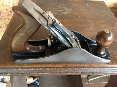 Vintage Stanley No. 4 1/2 Wood Plane. Nice Collectible Old Tool. England.