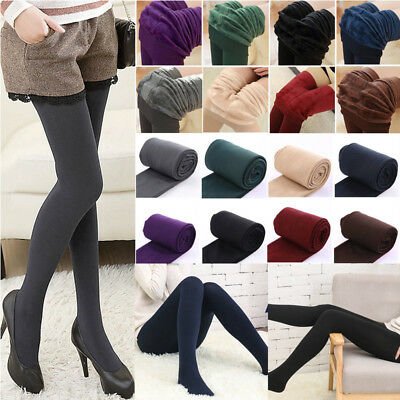 0a9fd0f82 Sexy Womens Thick Warm Winter Stockings Socks Stretch Tights Opaque  Pantyhose
