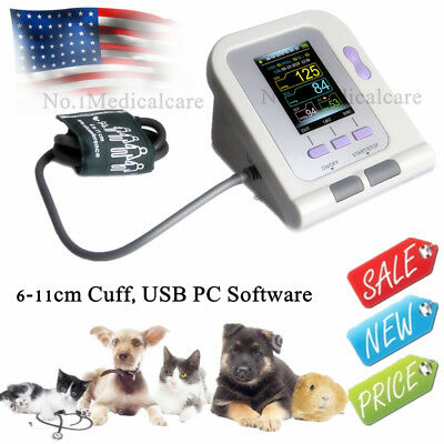 FDA Digital Veterinary Blood Pressure Monitor NIBP cuff,Dog/Cat/Pets,US seller