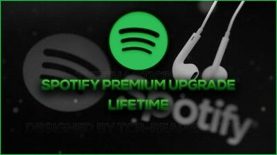 Spotify Premium Upgrade | LIFETIME | Same Day Delivery | World Wide |